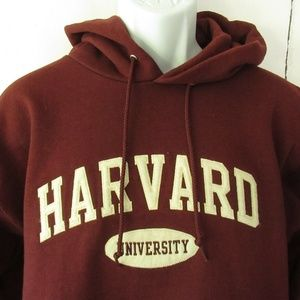 Champion Harvard University Hoodie Sweatshirt